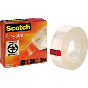 Scotch® Klebefilm Crystal  19 mm x 33 m (B x L)