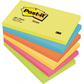 Post-it® Haftnotiz Active Collection  6 Block/Pack.