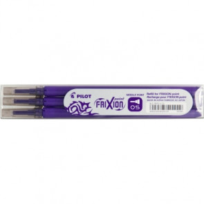 PILOT Tintenrollermine FriXion Point  0,3 mm 3 St./Pack.
