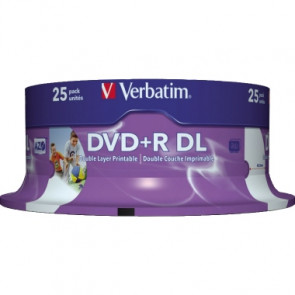Verbatim DVD+R DL Double Layer  bedruckbar
