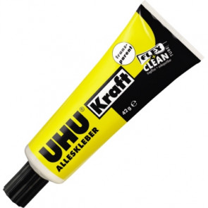 UHU® Alleskleber Kraft transparent FLEX + CLEAN