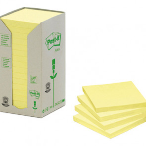 Post-it® Haftnotiz Recycling Notes Tower  16 Block/Pack.