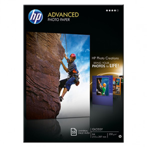 HP Fotopapier Advanced  DIN A4
