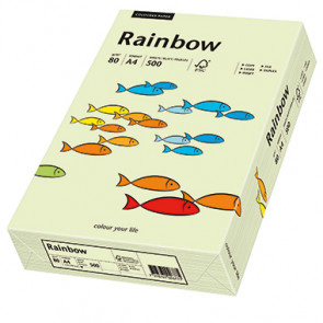Rainbow Multifunktionspapier Color  DIN A4