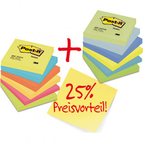 Post-it® Haftnotiz Rainbow Notes Promotion