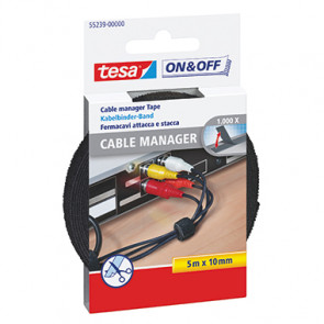 tesa® Kabelbinder On & Off® Cable Manager