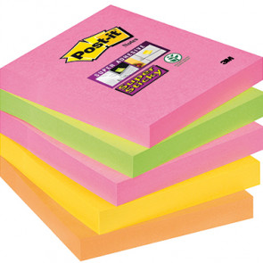 Post-it® Haftnotiz Super Sticky Neon Notes Cape Town Collection