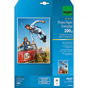 SIGEL Fotopapier Everyday  20 Bl./Pack.