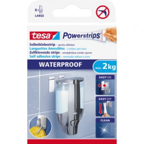 tesa® Klebepad Powerstrips® Waterproof Large