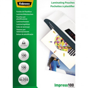 Fellowes® Laminierfolie Impress 100  DIN A4 100 St./Pack.