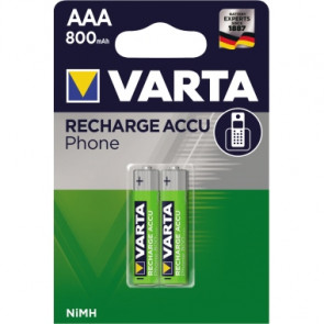 Varta Akku Recharge Accu Power Phone  Micro/AAA