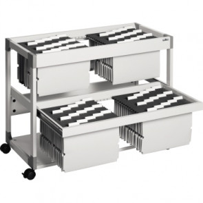 DURABLE Hängemappenwagen SYSTEM FILE TROLLEY 200 MULTI DUO