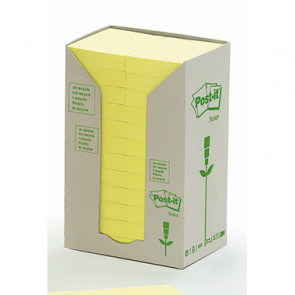 Post-it® Haftnotiz Recycling Notes Tower  24 Block/Pack.