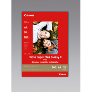 Canon Fotopapier Plus Glossy II  20 Bl./Pack.