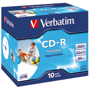 Verbatim CD-R  Jewelcase