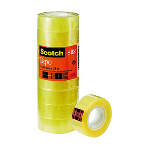 Scotch® Klebefilm 508  15 mm x 33 m (B x L)