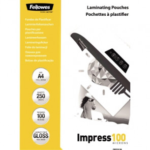 Fellowes® Laminierfolie Impress 100  DIN A4 250 St./Pack.