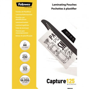 Fellowes® Laminierfolie Capture 125  DIN A4 250 St./Pack.