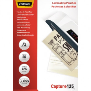 Fellowes® Laminierfolie Capture 125  DIN A2 50 St./Pack.