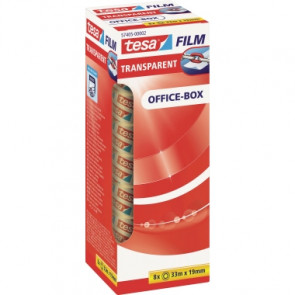 tesa® Klebefilm tesafilm® Office-Box  19 mm x 33 m (B x L)