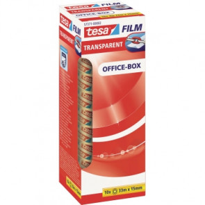 tesa® Klebefilm tesafilm® Office-Box  15 mm x 33 m (B x L)