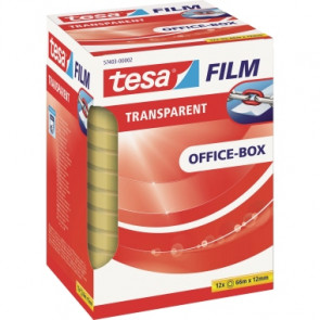 tesa® Klebefilm tesafilm® Office-Box  12 mm x 66 m (B x L)