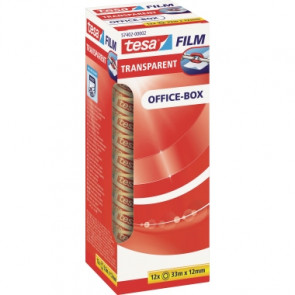 tesa® Klebefilm tesafilm® Office-Box  12 mm x 33 m (B x L)