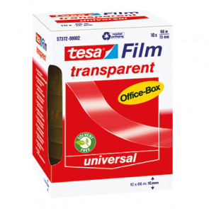 tesa® Klebefilm tesafilm® Office-Box  15 mm x 66 m (B x L)